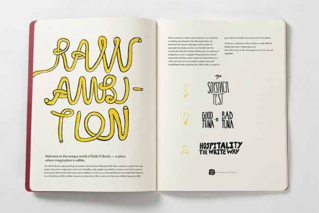 Yume Umē franchise brochure