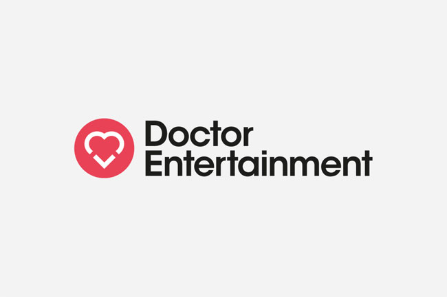 Doctor Entertainment brand identity