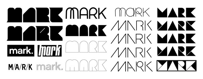 MARK logo development