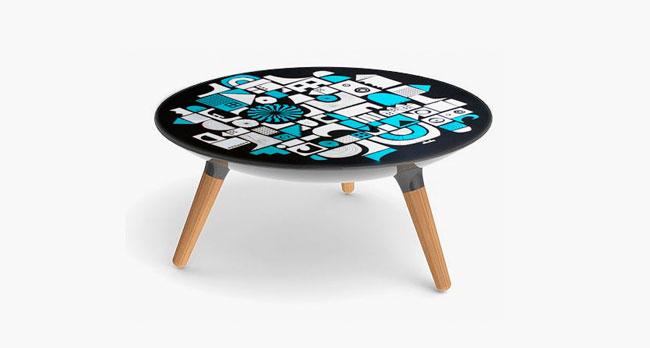 MARK shaper table