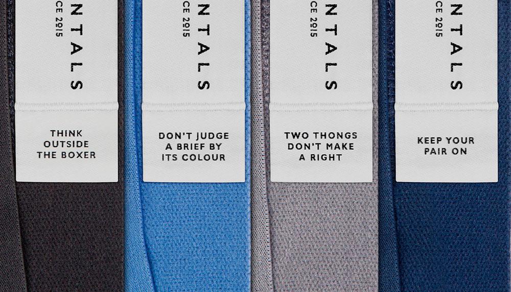 Undamentals pant labels
