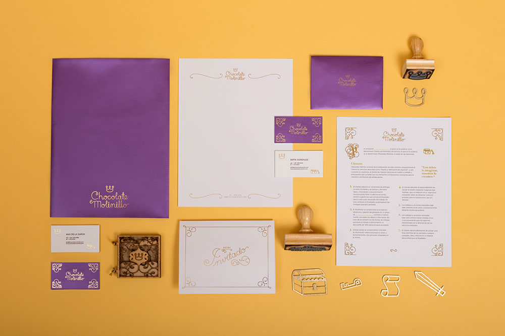 Chocolate Molinillo identity design