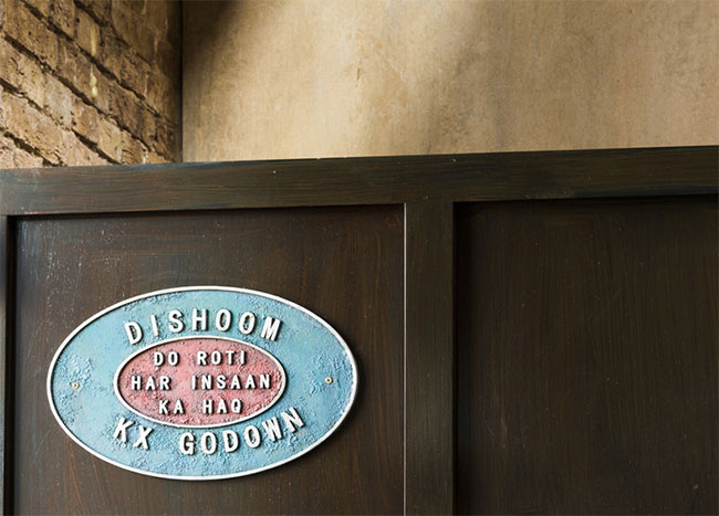 Dishoom identity design