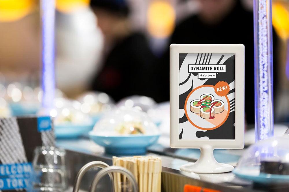 YO! Sushi identity design
