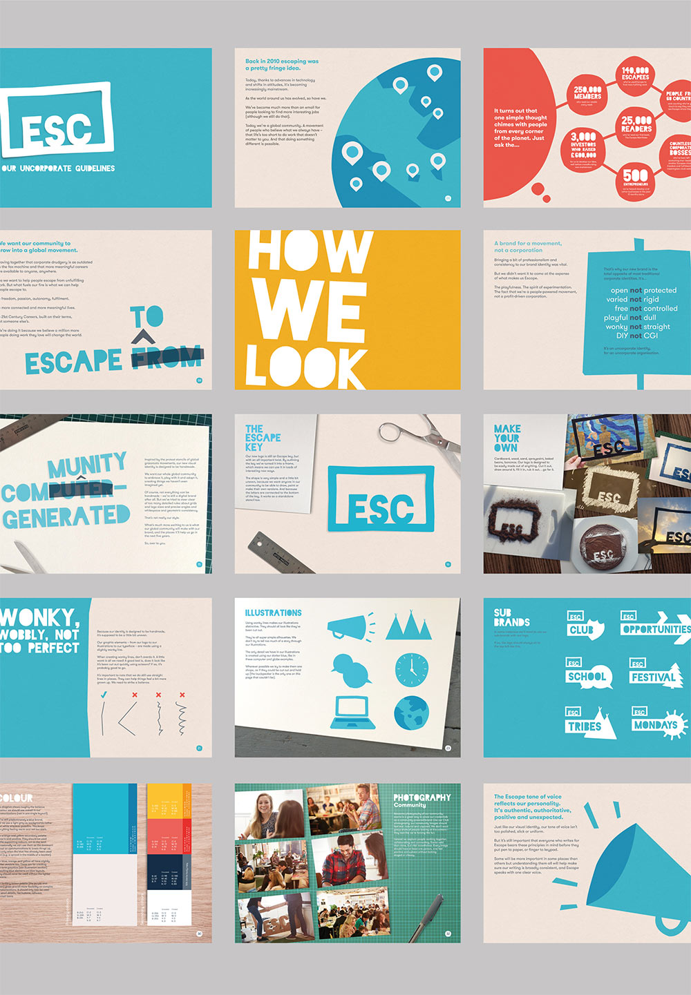 Escape the City identity design