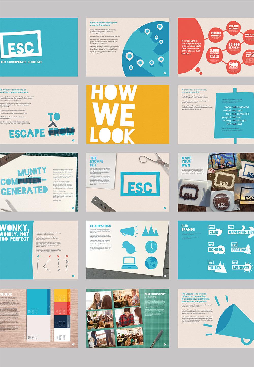 Escape the City identity design