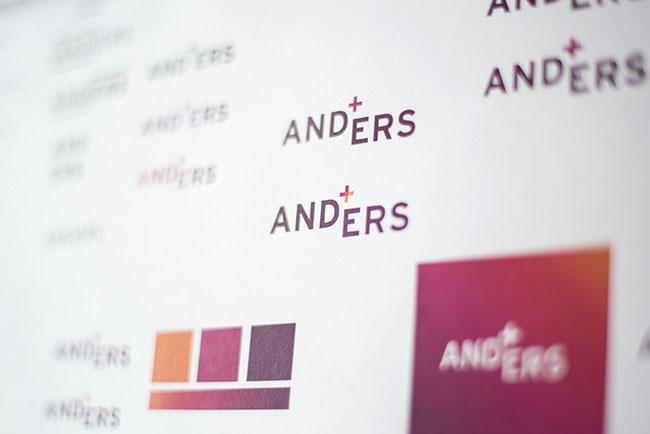 Anders brand identity design