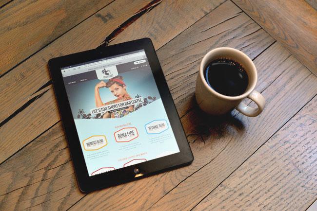 Goshen Coffee iPad