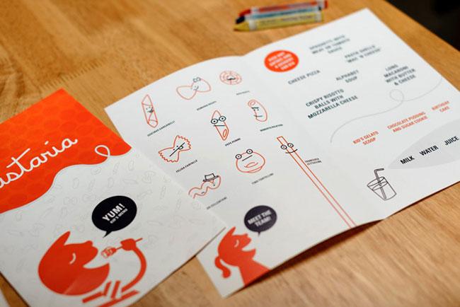 Pastaria brand identity design
