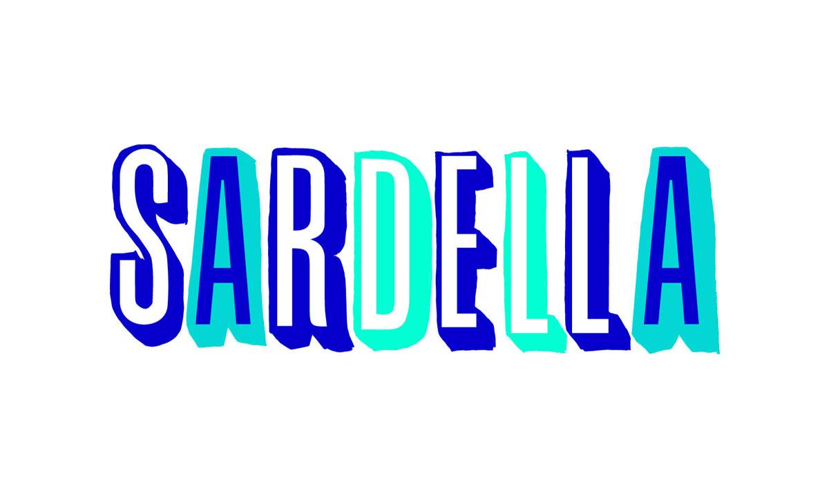 Sardella identity design