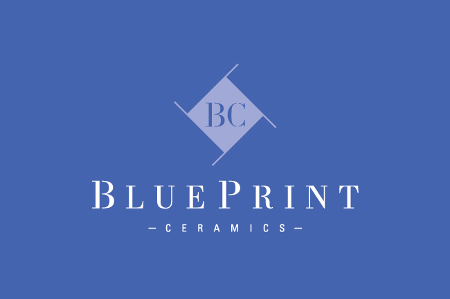 BluePrint Ceramics identity design