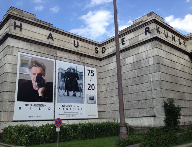 Haus der Kunst facade