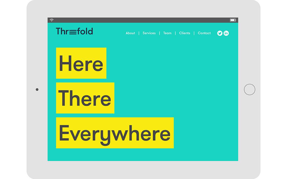 Threefold identity