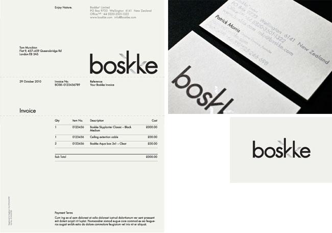 Boskke brand identity design