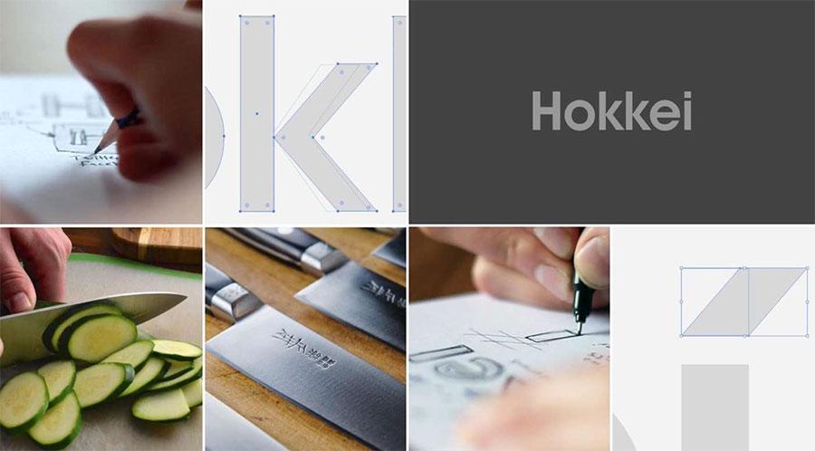 Hokkei brand identity