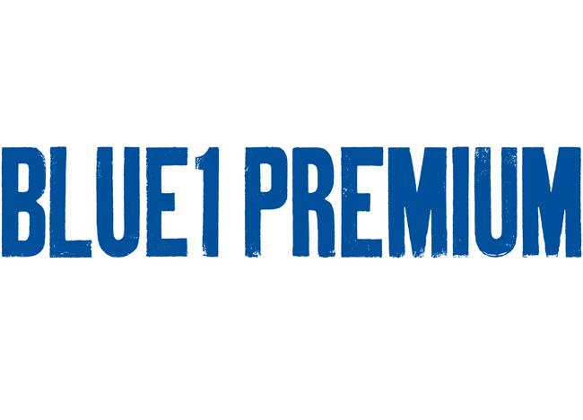 Blue1 Premium wordmark