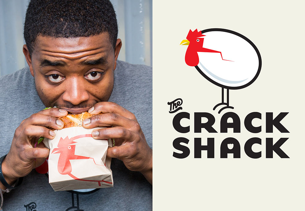 The Crack Shack identity design