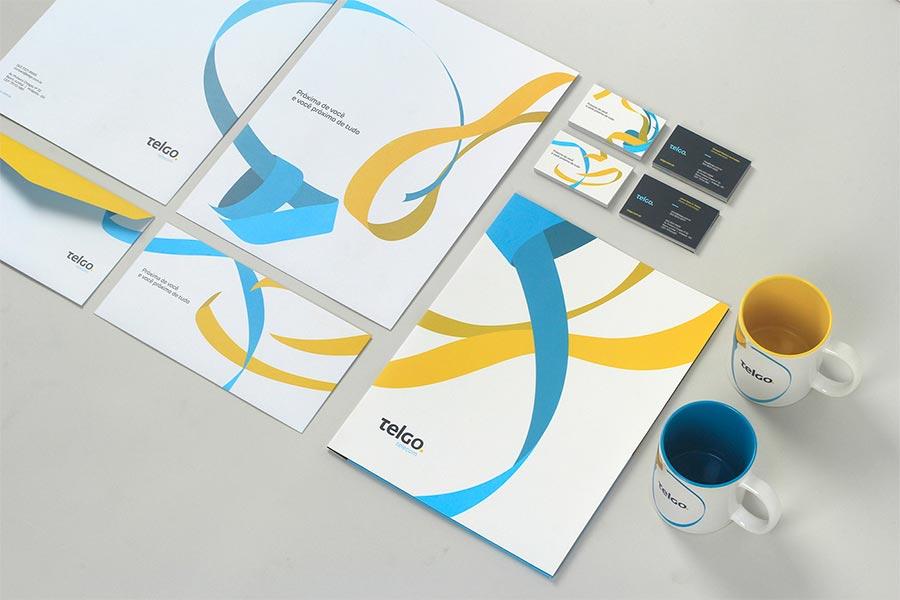 Telgo identity design