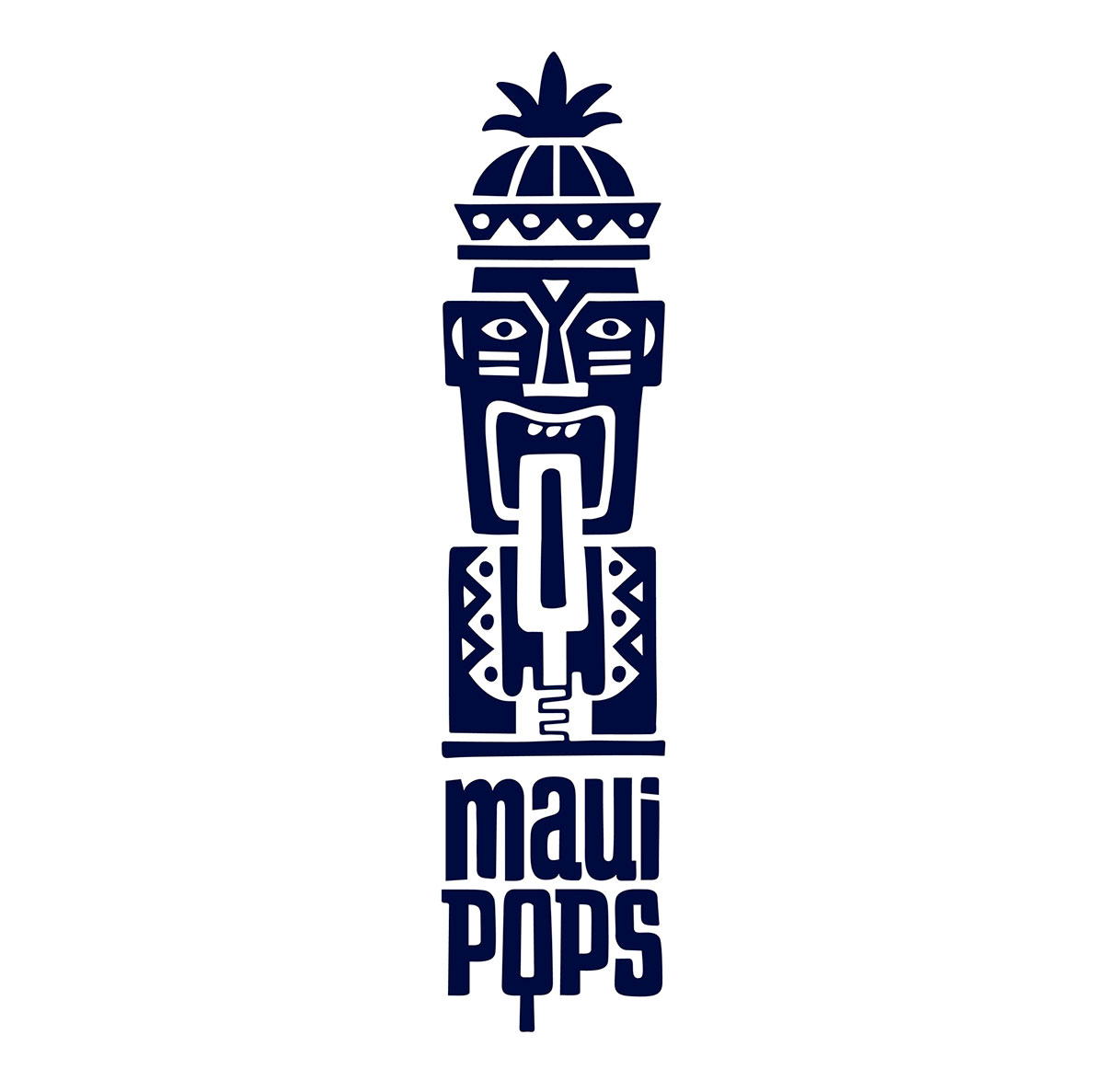 Maui Pops identity