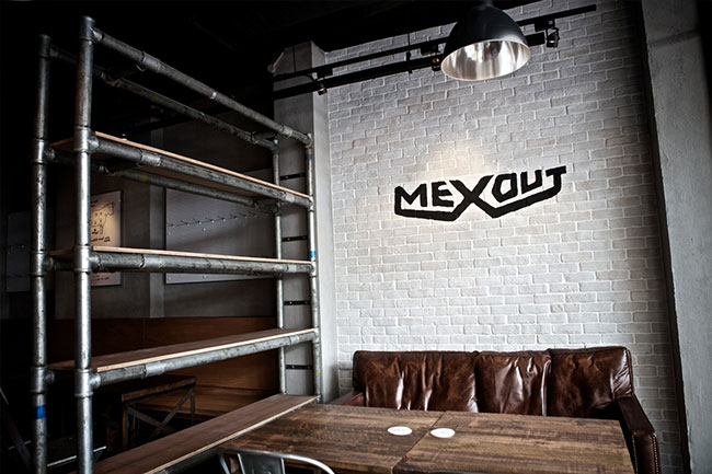 Mexout identity design