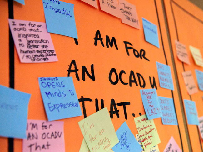 OCAD University identity design