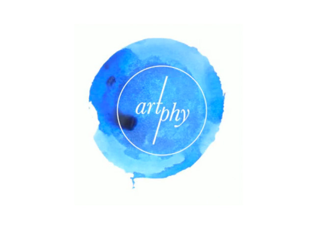 Artphy brand identity
