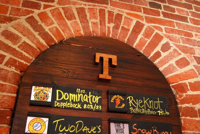 Tomlinson Tap Room menu