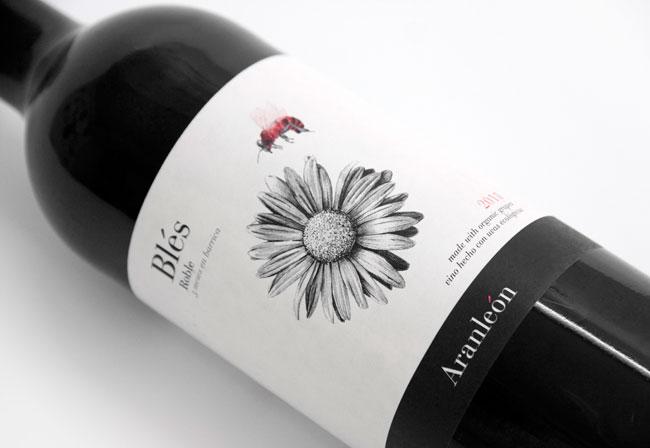 Blés organic wines