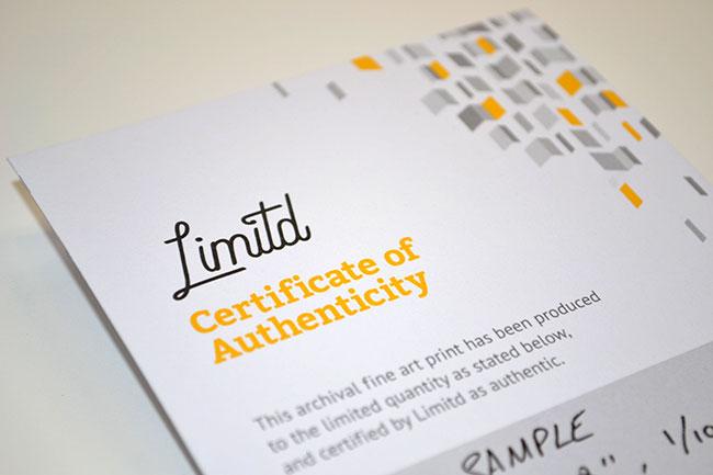 Limitd brand identity