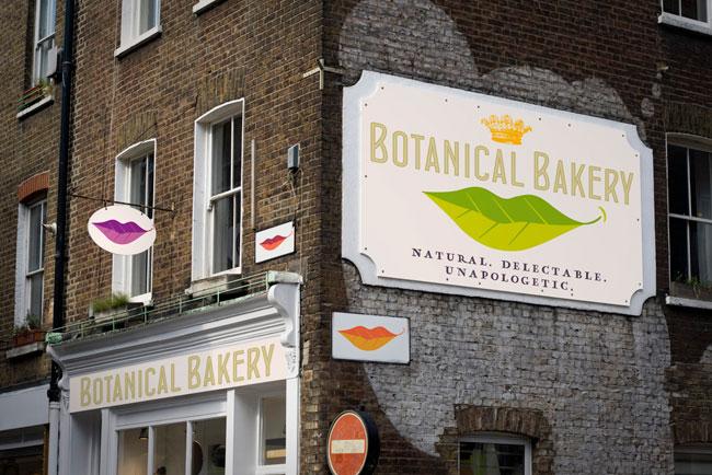 Botanical Bakery signage