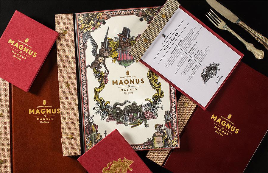 Magnus & Magnus identity design