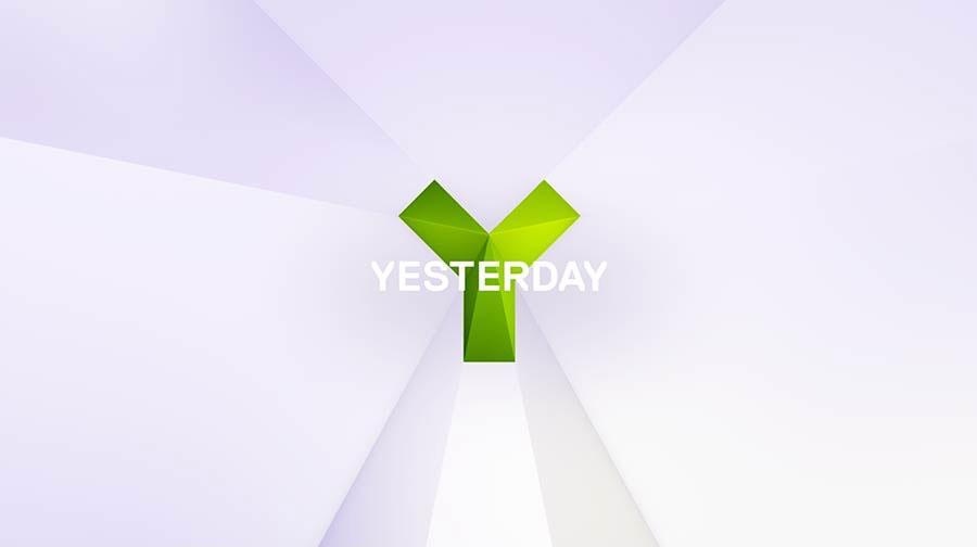 Yesterday identity design