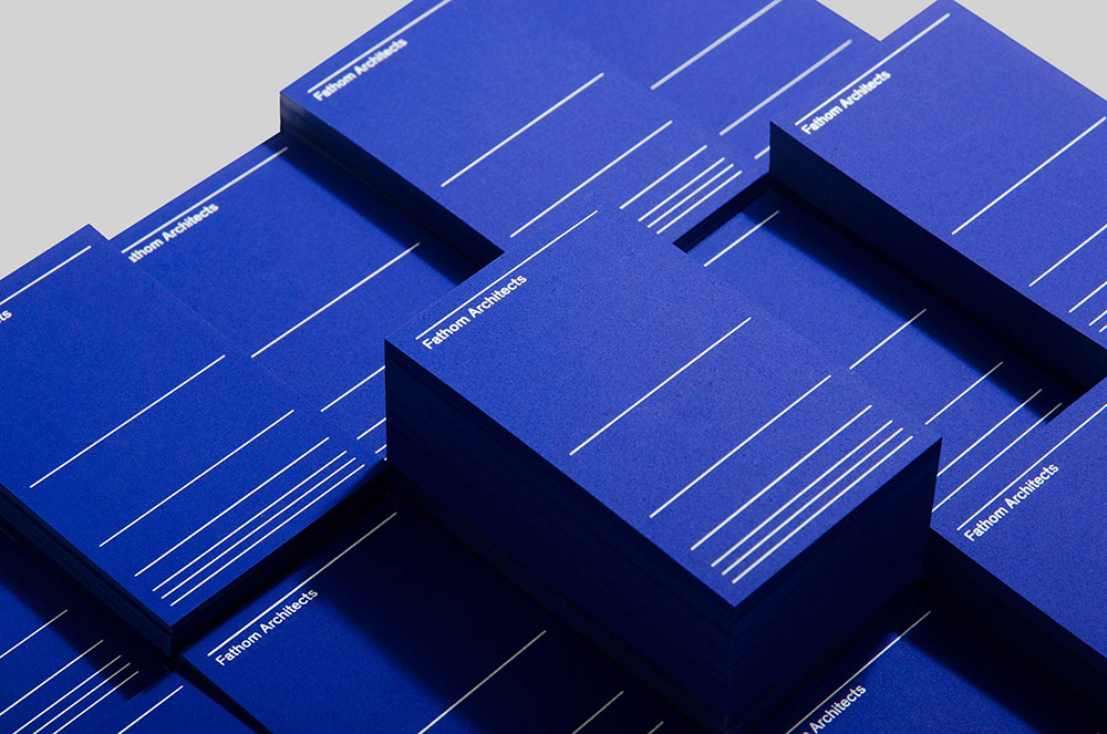Fathom Architects identity