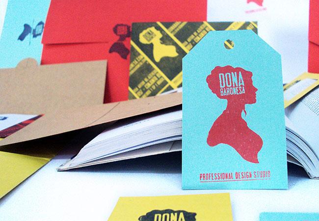 Dona Baronesa brand identity