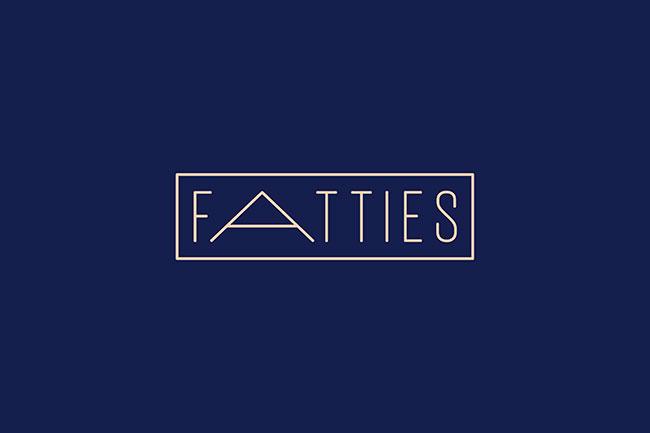 Fatties Bakery identity design