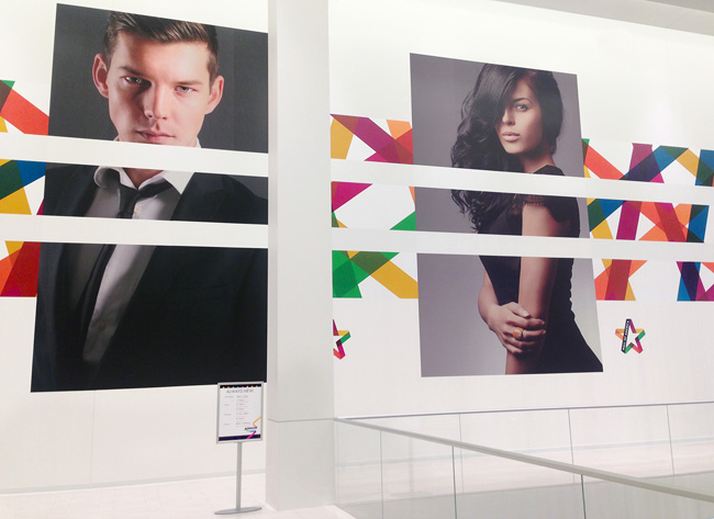 Mall of America brand identity design