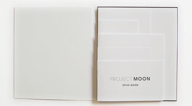 Project Moon brand identity