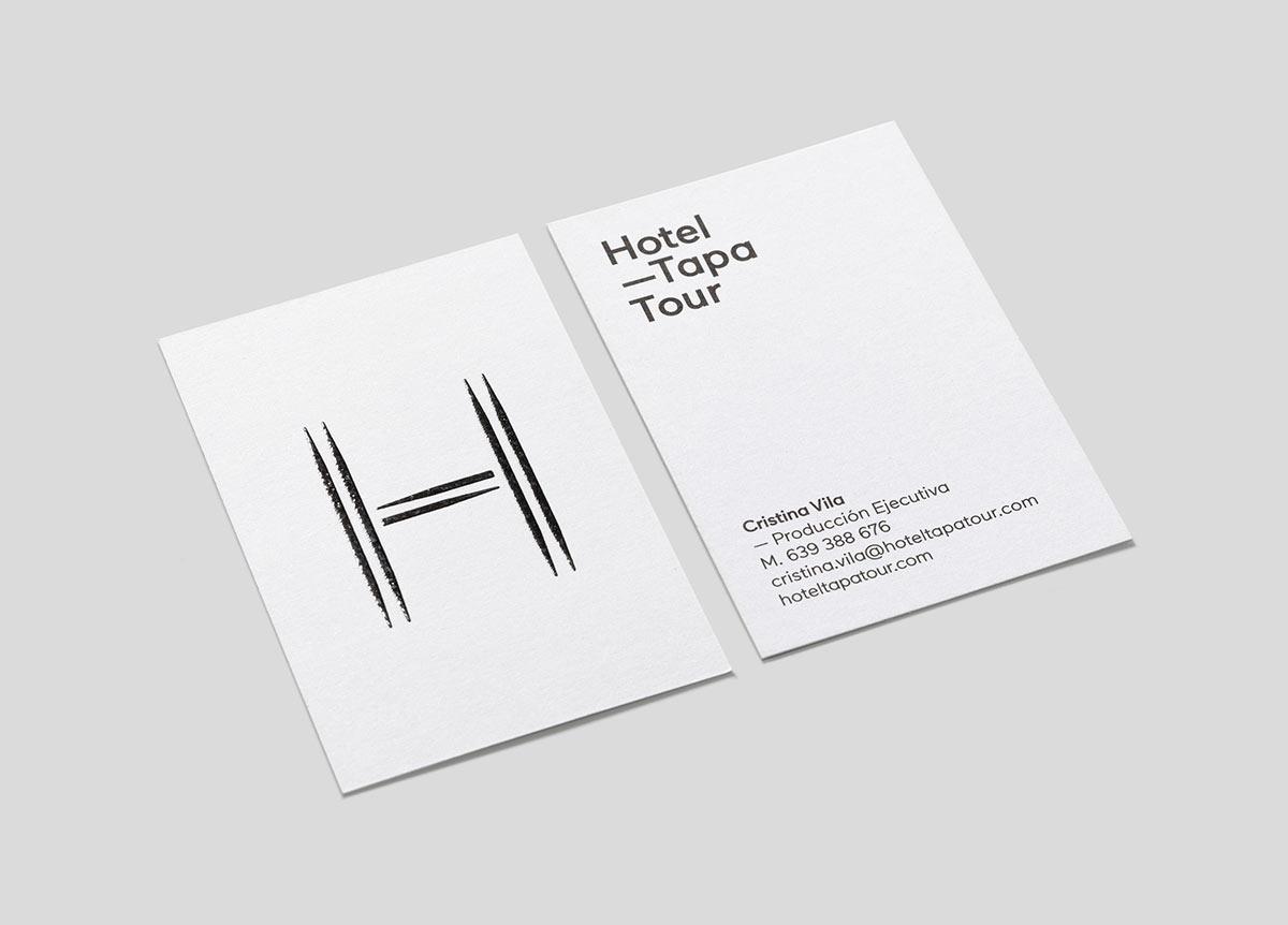 Hotel Tapa Tour identity
