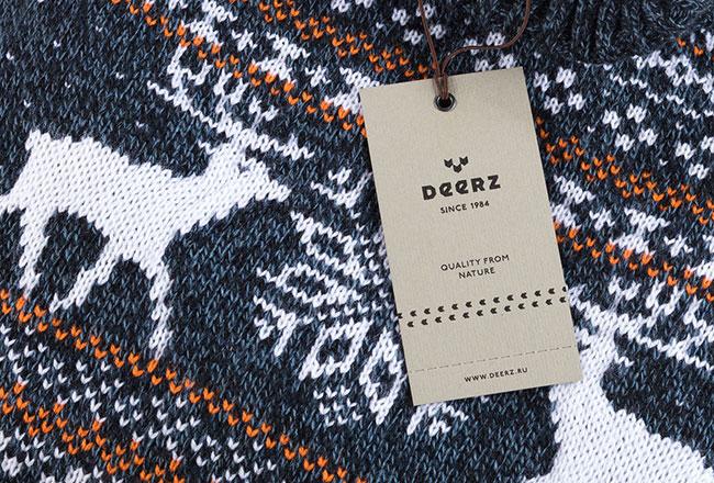 Deerz brand identity
