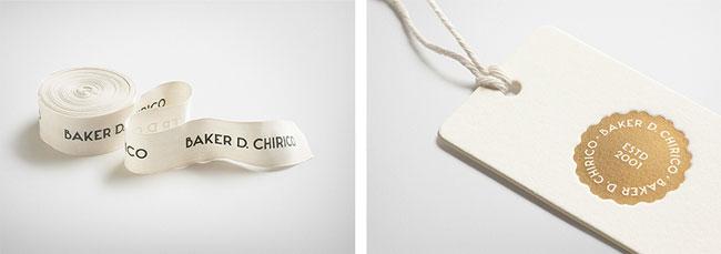 Baker D. Chirico brand identity