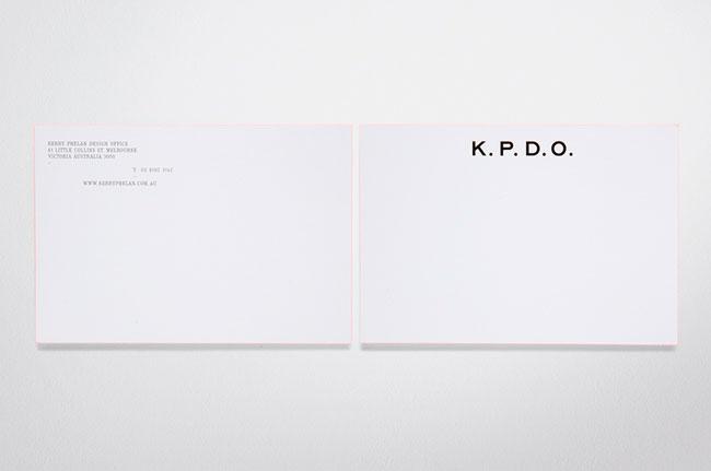 KPDO stationery