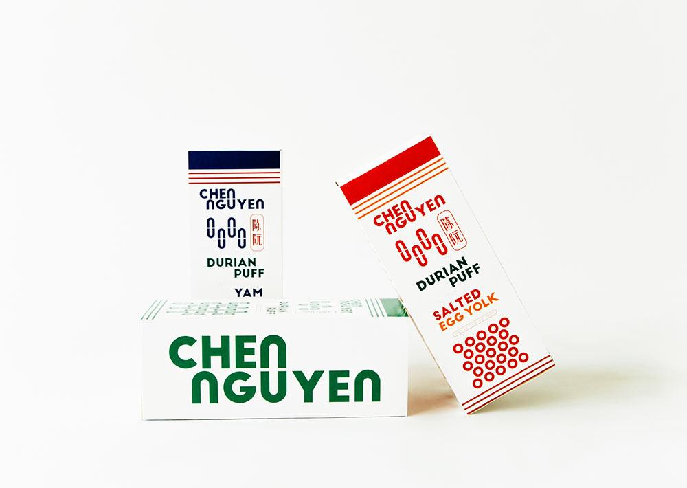 Chen Nguyen identity design