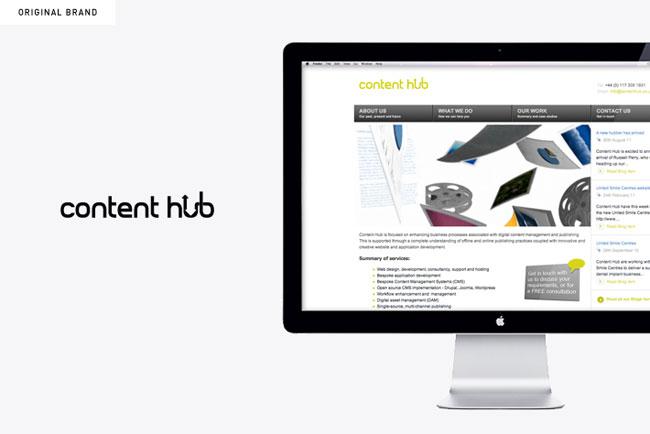 Content Hub old design