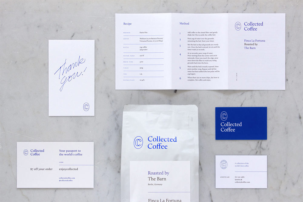 Collected Coffee identity design