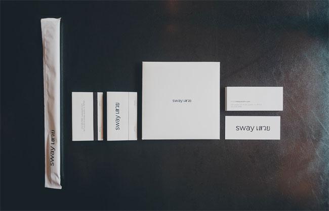 Sway Austin identity design