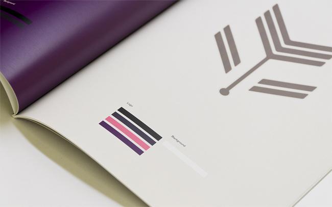 Violet Crown Cinema brand identity design