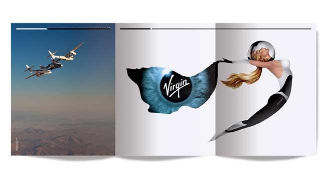 Virgin Galactic branding