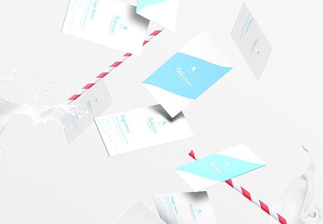 Leitaria Lisboa identity design