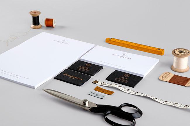 Roberto Revilla brand identity design