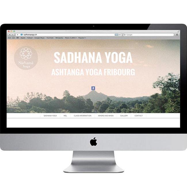 Sadhana identity design